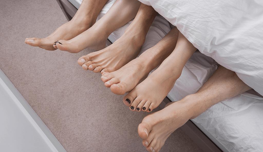 trekant sex erotiske noveller